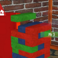Bricks Jenga 3D
