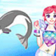 Dolphin Swimming Dress Up
