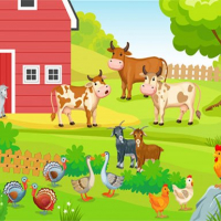 FARM ANIMALS PUZZLES CHALLENGE