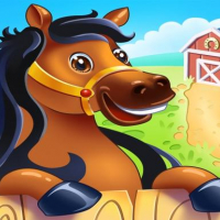 Animal Farm for Kids. Toddler games online
