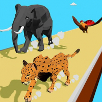Animal Transform Race 3D